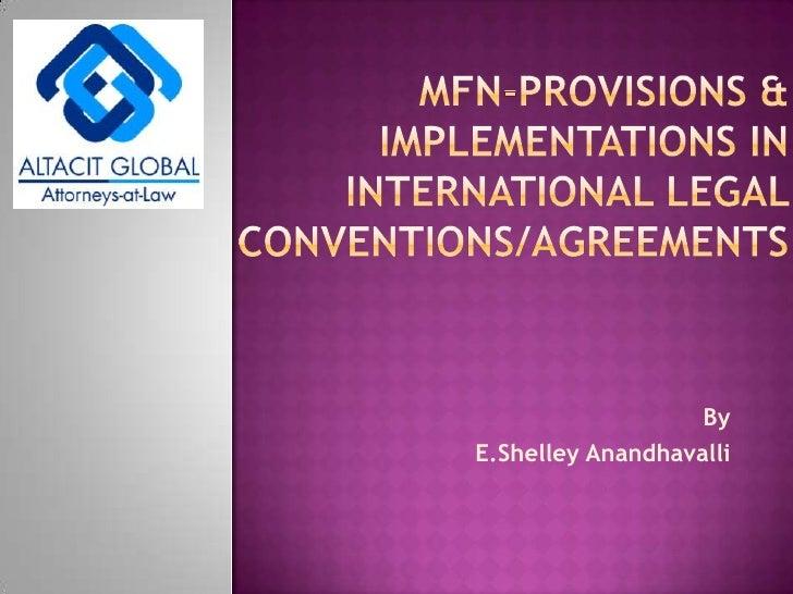 Shelley presentation on mfn