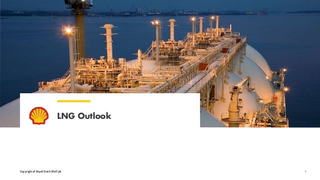 Copyright of Royal Dutch Shell plc LNG Outlook 1