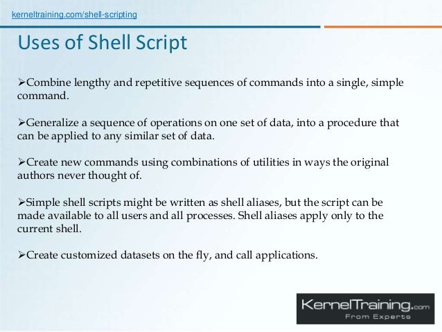 An Introduction to Scripting Language