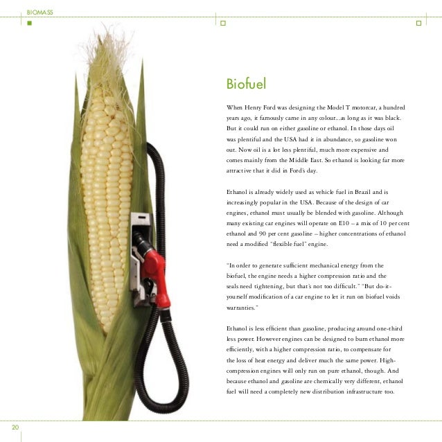 """First Generation Biofuel Production The term """"first generation"""" refers to biofuels that are made from starch and sugar usi..."""