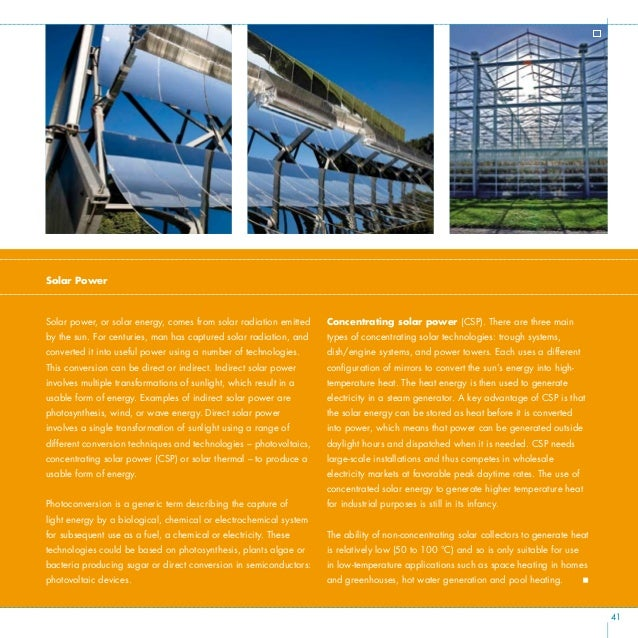 """""""First and second-generation PV panels are here now, and third generation is in the lab. The option is either to increase ..."""