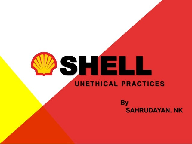 UNETHICAL PRACTICES SHELL By SAHRUDAYAN. NK