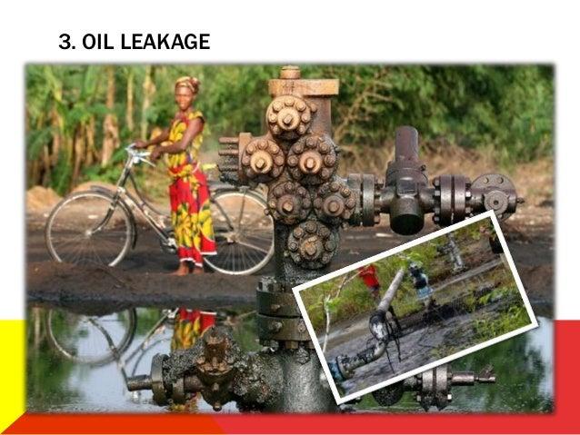 3. OIL LEAKAGE
