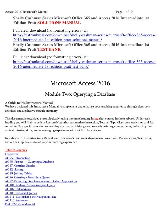 Shelly cashman series microsoft office 365 and access 2016 intermedia…