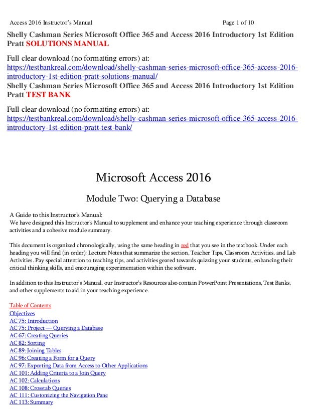 Shelly cashman series microsoft office 365 and access 2016 introducto…
