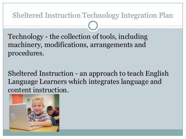 integrating instructional technology plan Integrating technology into instruction in the area of integrating computer technology and the resources of the internet lesson plans, instructional.