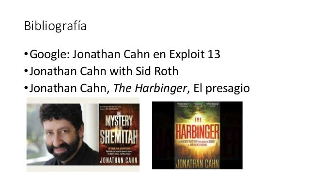 El presagio jonathan cahn