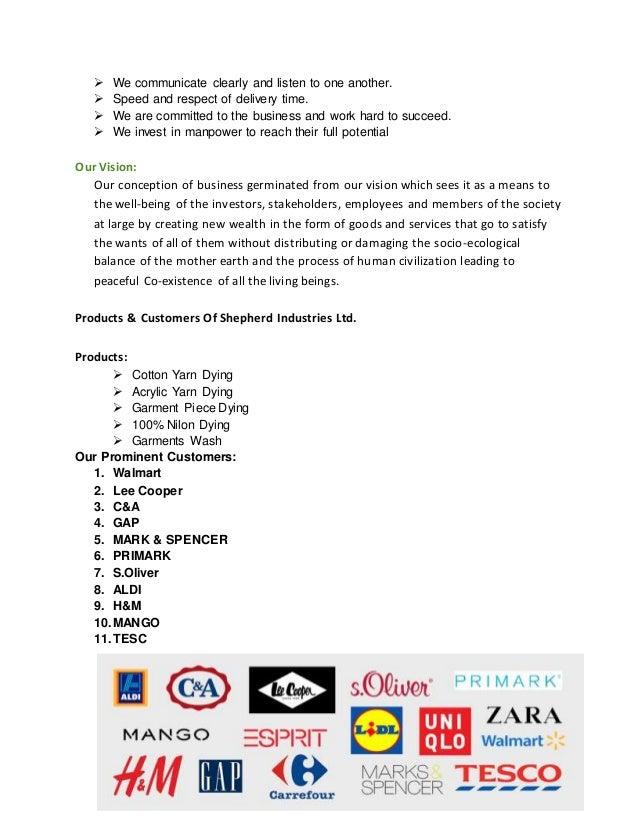 Report on Shepherd industries ltd