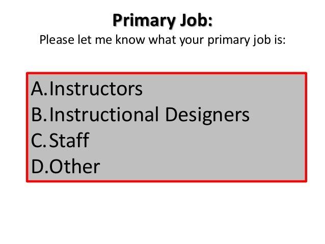 instructional design certificate programs
