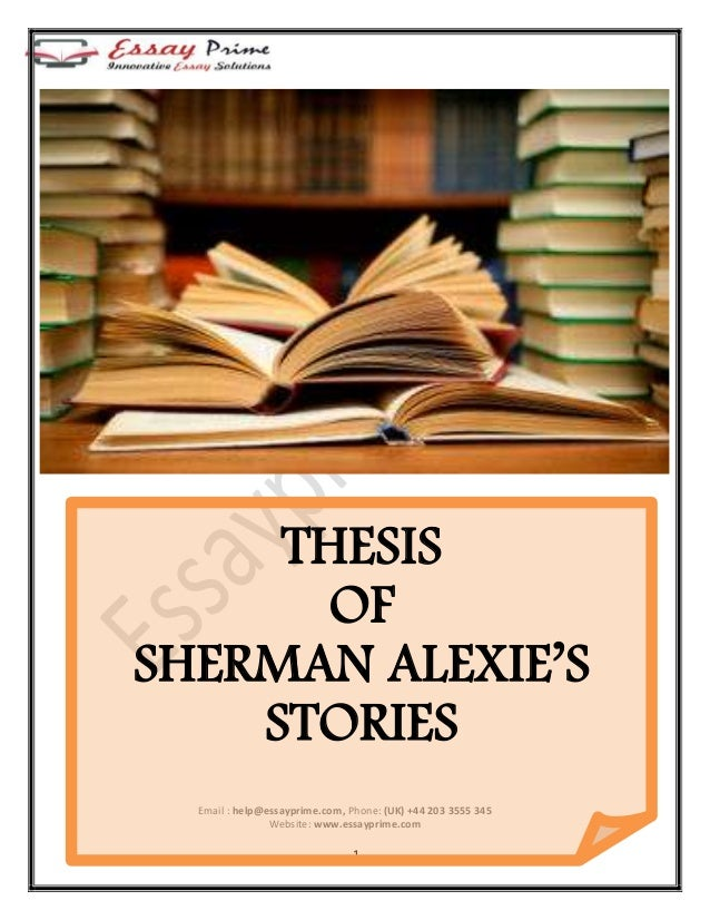 Sherman Alexie: A Collection of Critical Essays