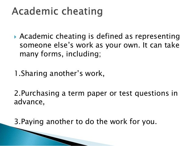 s cheating out of control Is academic cheating out of control must be new and original work in apa format and not given to other students all.