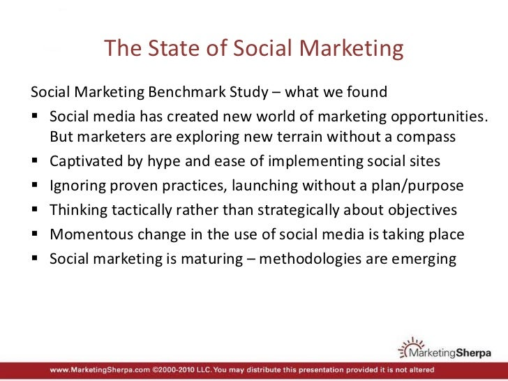 MarketingSherpa's Creating a Social Marketing Architecture Slide 3