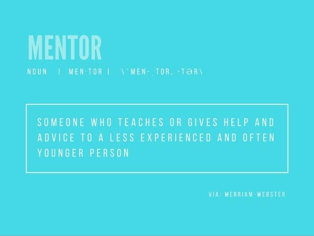 Sherrie Suski Presents: The Importance of Mentorship Slide 2