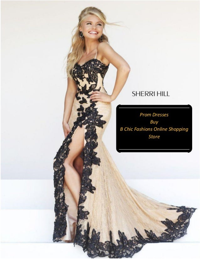 Black Lace Prom Dress 2015 Sherri Hill