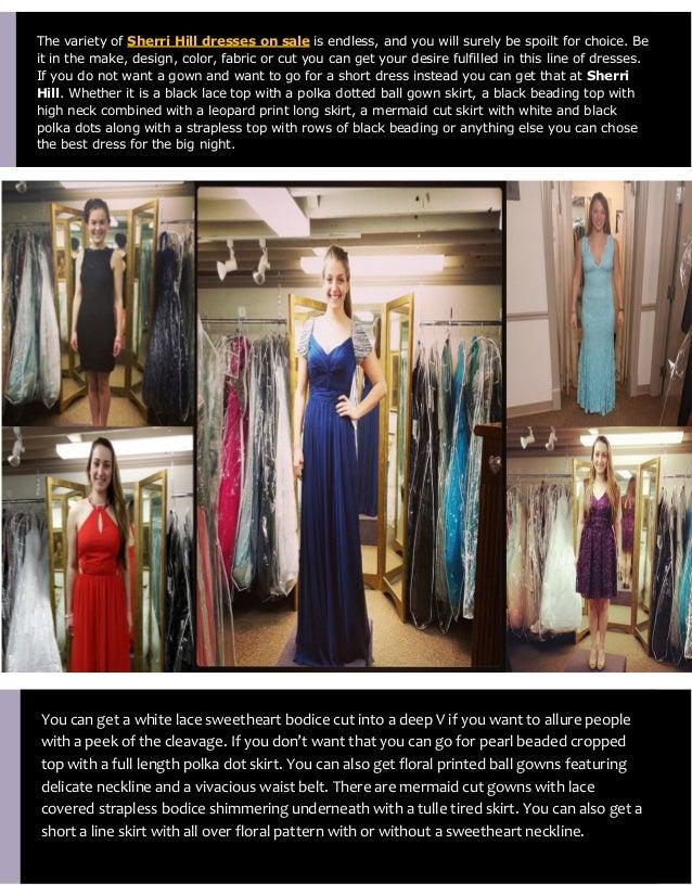 Sherri Hills Prom Dresses on Sale 2015
