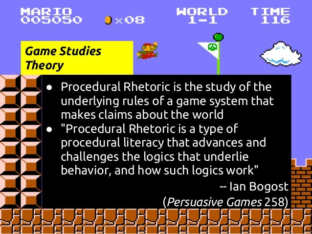 Image result for procedural rhetoric
