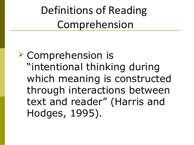 Construct meaning through reading and writing