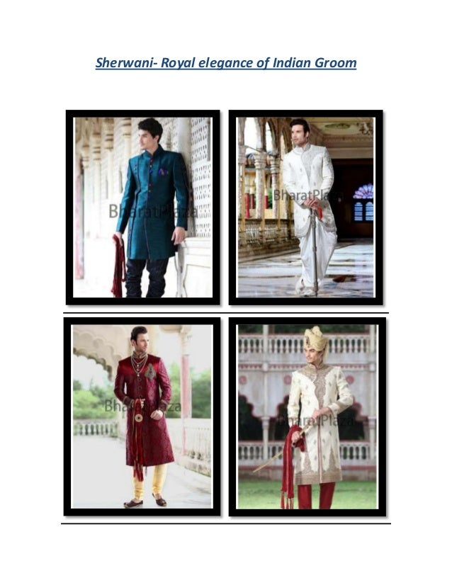 Sherwani- Royal elegance of Indian Groom