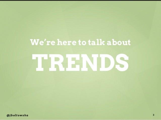 Innovative Failure and Digital Trends Slide 3