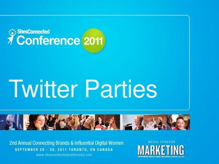 Twitter Parties