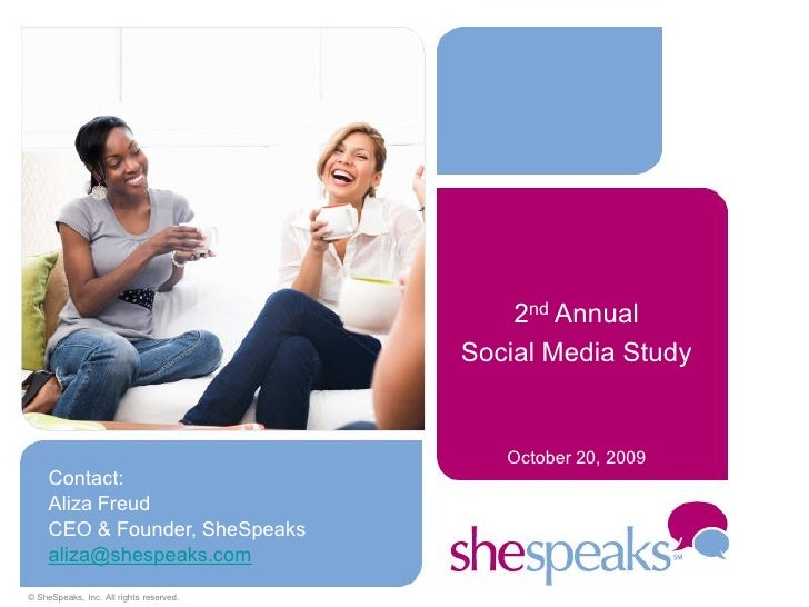 2nd Annual                                          Social Media Study                                               Octob...