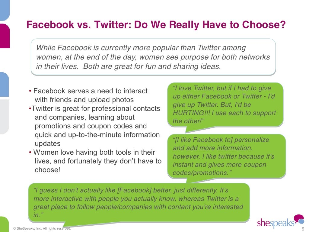 What is better to choose - facebook or contact 46