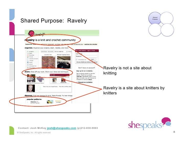 Shared      Shared Purpose: Ravelry                                                                                       ...