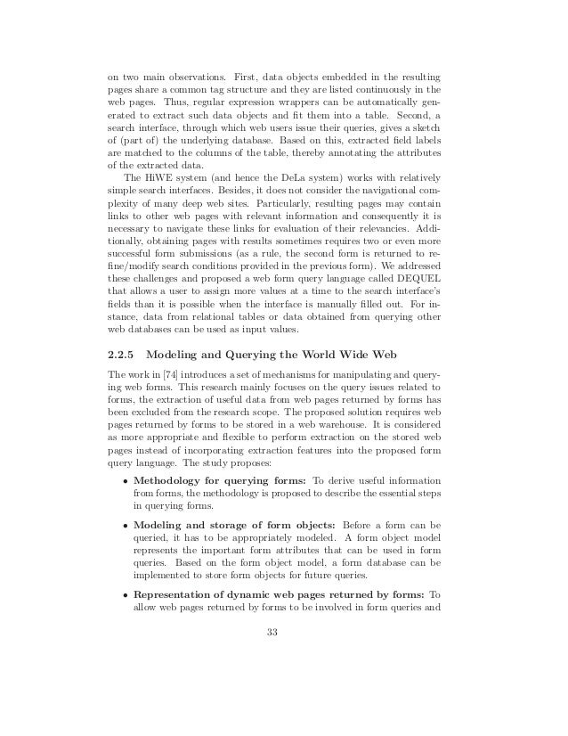 Dissertation database query