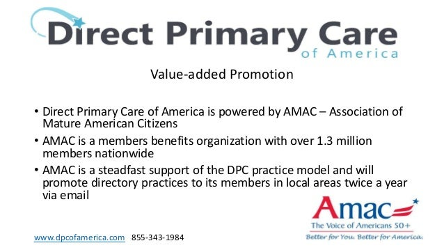 Direct Primary Care Of America Lunch Sponsor Dpc Summit 2018