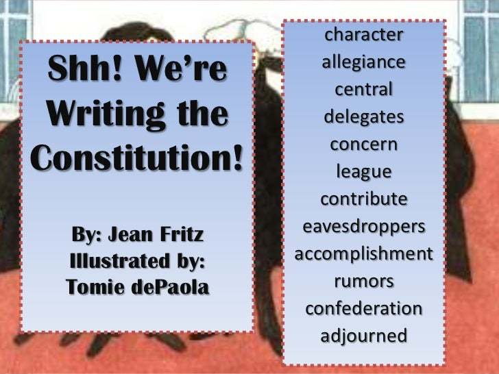 changing the constitution essay An informal amendment is a change to the meaning or interpretation of the constitution of the united states there is no real informal way to change the constitution, and its not actual change to the wording of the constitution rather its the way we preceive the constitution that changes.