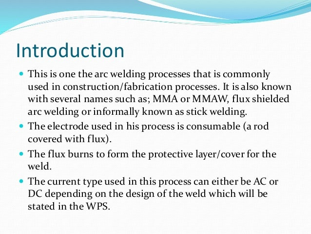 Introduction to Welding from The Industrial Revolution to Welding Processes and Careers introduction to shielded metal arc welding