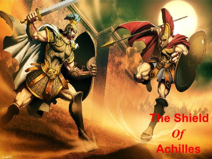 "achilles shield essay First published in 1952, ""the shield of achilles"" is auden's response to the detailed description, or ekphrasis, in homer's epic poem, the iliad of the shield borne by the hero achilles ."