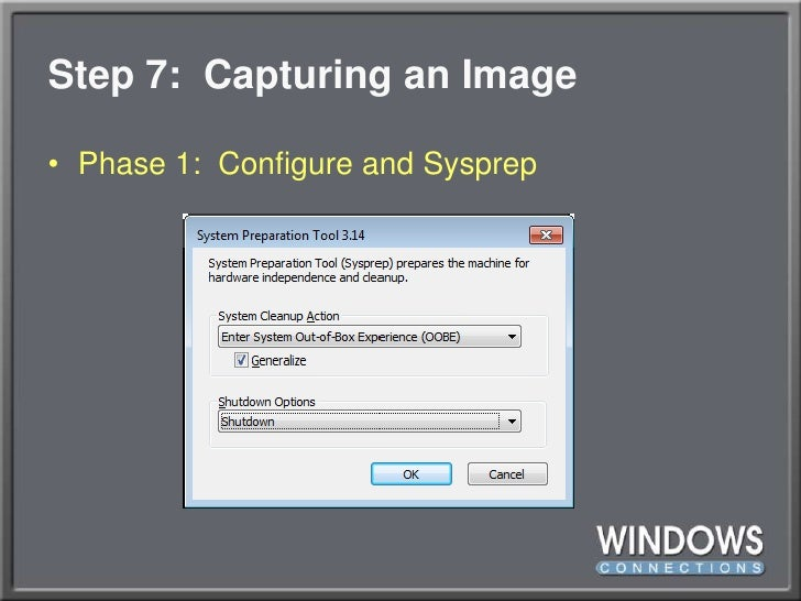 WinConnections Spring, 2011 - Deploying Windows 7 without