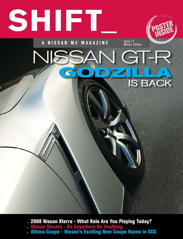 ... Nissan Xterra And Altima Reviews. Issue 11 ...