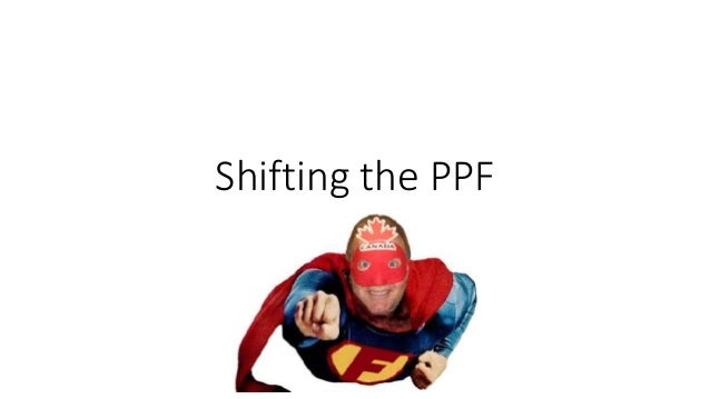 Shifting the PPF