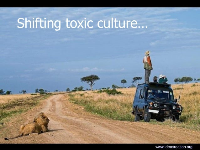 Shifting toxic culture…www.ideacreation.org