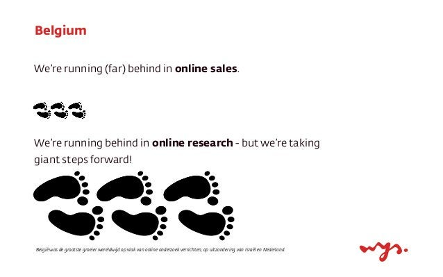 Big shift For the first time ever the majority of purchasers does online research before purchasing.