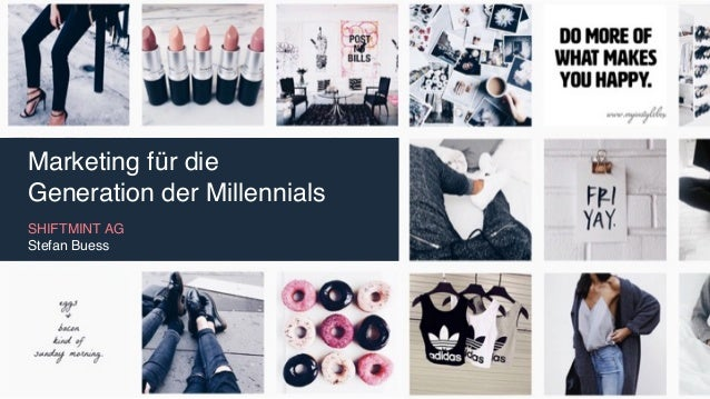 Marketing für die Generation der Millennials