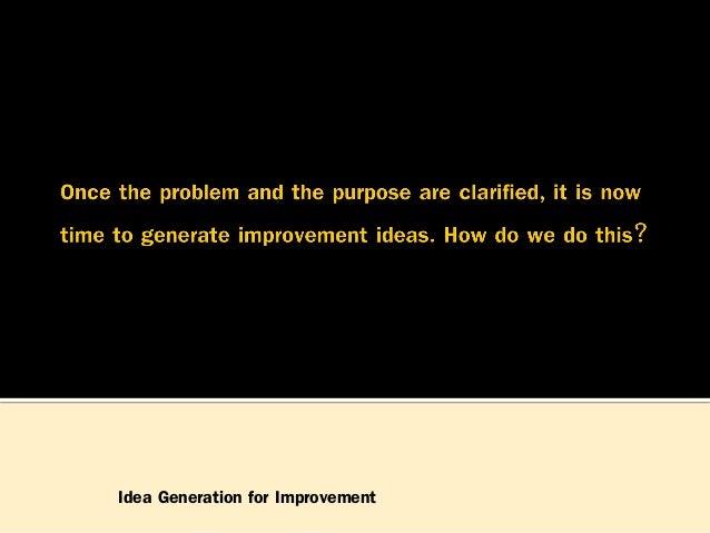 The Evolution of Improvement