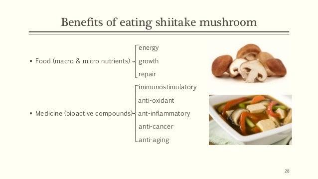 Food as medicine: shiitake mushroom, Lentinula edodes