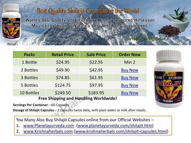 Packs              Retail Price            Sale Price            Order Now      1 Bottle               $24.95             ...