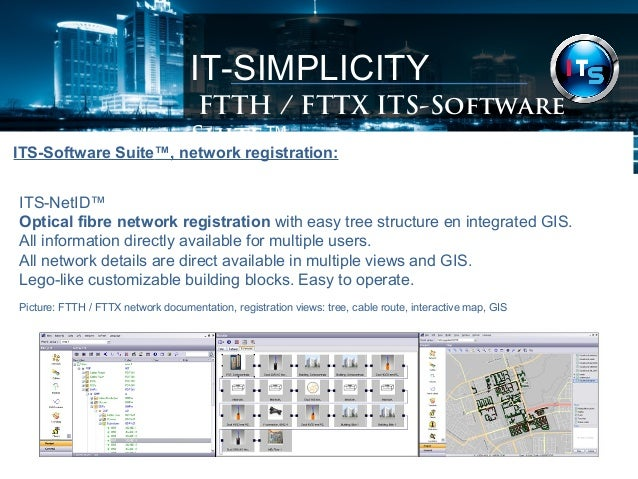 Real Fibre Optic Ftth Fttx Network Design Engineering Planning Sof