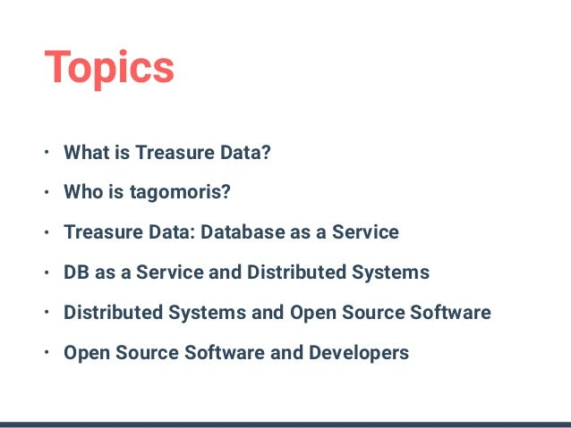 Open source software distributed systems database as a for Salon open source