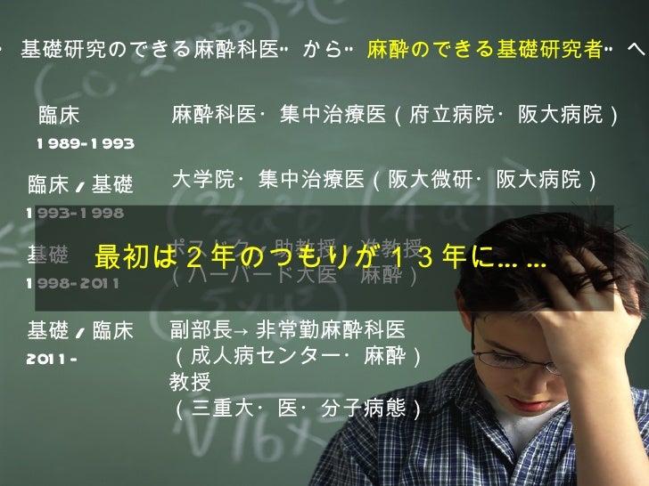 臨床研究医の仕事術 Slide 2
