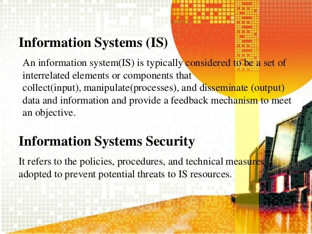 Threats to Information Resources - MIS - Shimna Slide 2