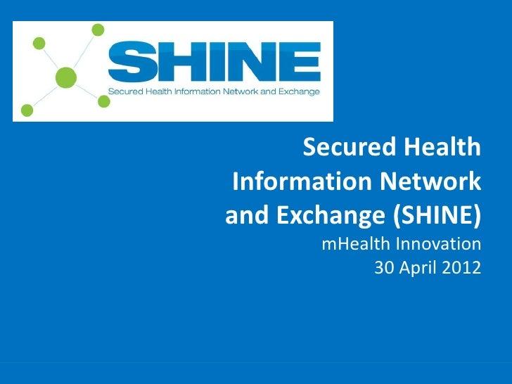 Secured Health                                              Information Network                                           ...