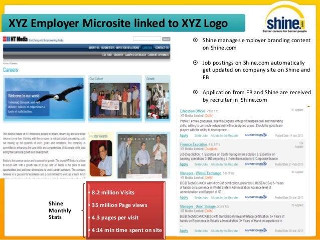 shine com resume format