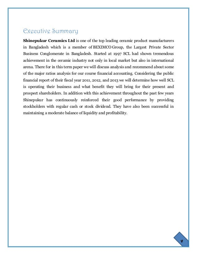 swot analysis of shinepukur ceramics limited That, in the final analysis we are accountable 2 shinepukur ceramics limited notice shinepukur ceramics limited 17, dhanmondi ra, road no2, dhaka-1205.