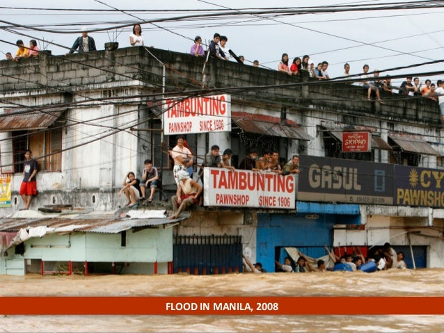 FLOOD  IN  MANILA,  2008