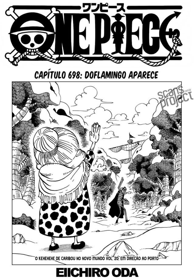 One Piece Mangá - Capitulo 698